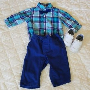 Size 3-6 month baby boy outfit